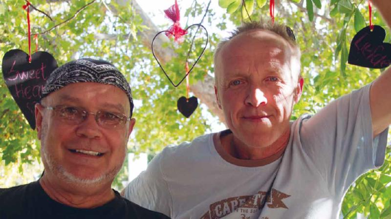Stef Bos en Koos Kombuis
